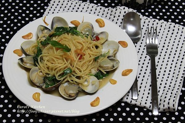 白酒蛤蜊義大利麵 04.JPG