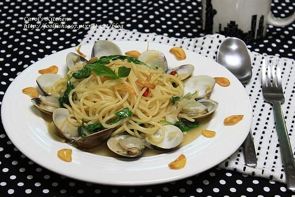 白酒蛤蜊義大利麵 01.JPG