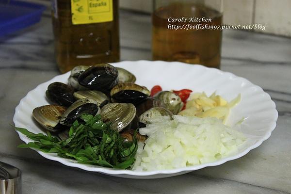 白酒蛤蜊義大利麵 05.JPG