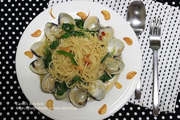 白酒蛤蜊義大利麵 02.JPG