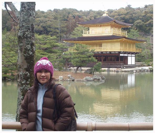 054. 金碧輝煌的金閣寺