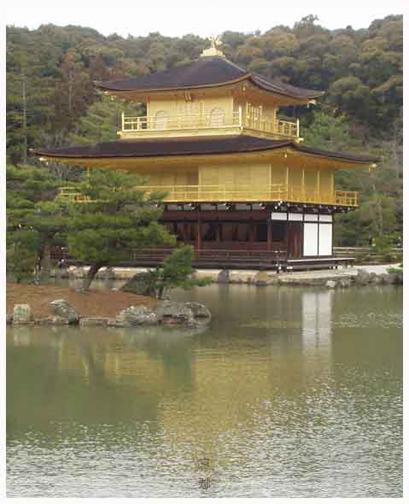 053. 金碧輝煌的金閣寺