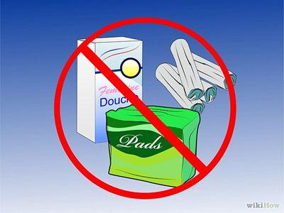避免灌洗和使用女性噴霧劑