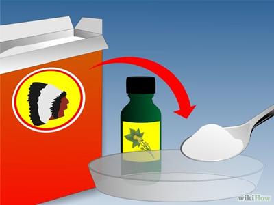 使用發酵粉與蓖麻油