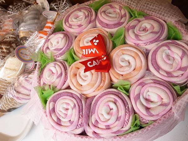 26.紫玫瑰毛巾花束.JPG