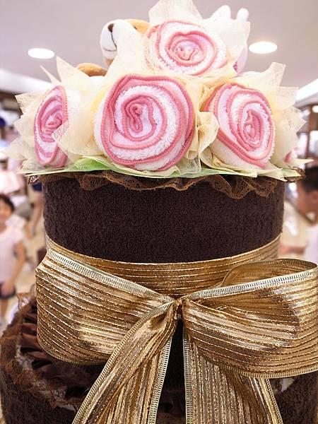 27.粉色玫瑰毛巾花束.JPG