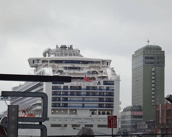 8.基隆港口的郵輪