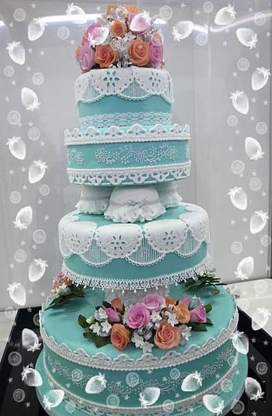 21.走氣質路線的蛋糕