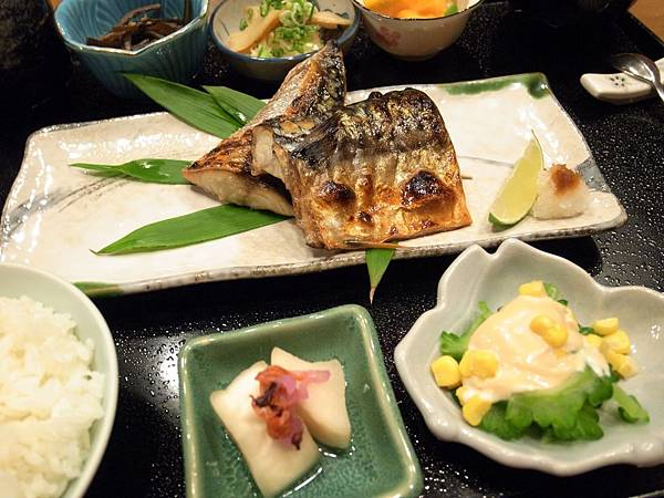 6.烤魚定食