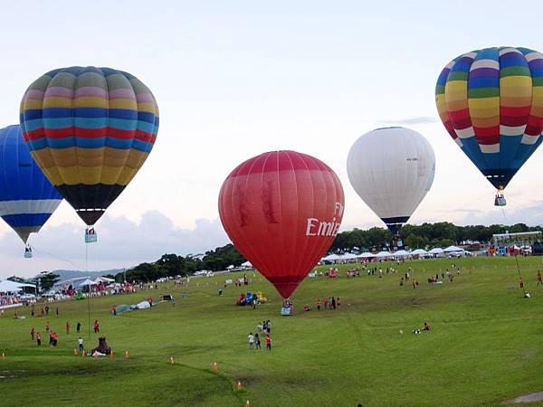 1.台東熱氣球嘉年華