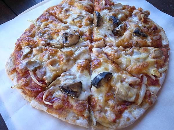 10.超美味的窯烤pizza