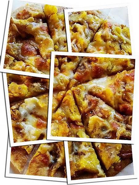 地瓜黑糖PIZZA
