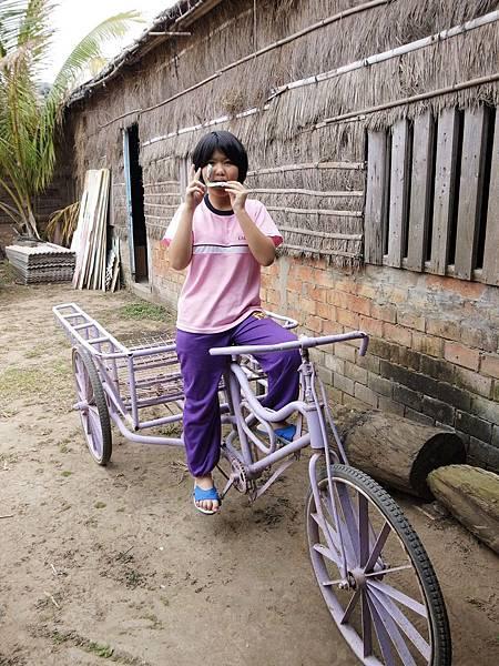 7.夢幻紫三輪車