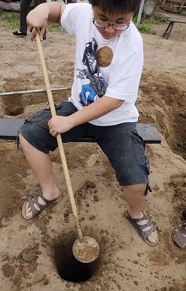 11.成功挖鑿地下水