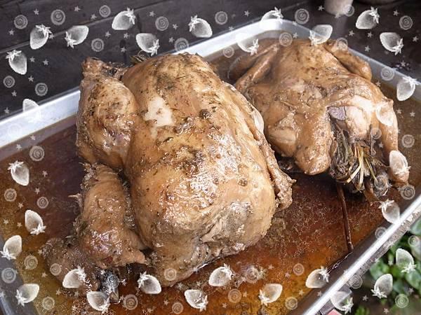 24.每桌二隻窯烤雞