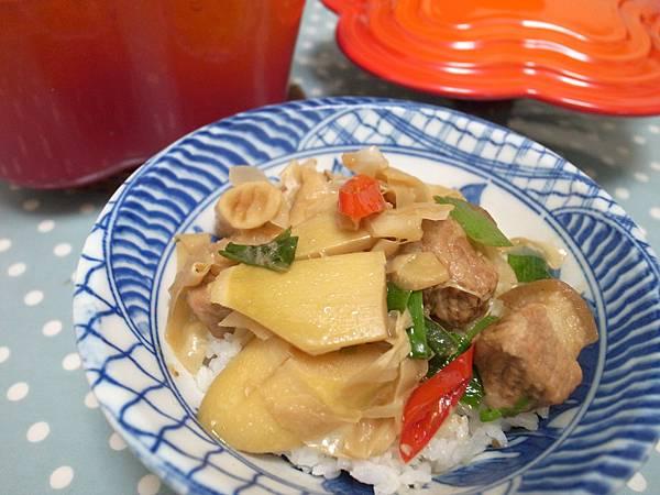 9.超下飯的桂竹筍滷肉