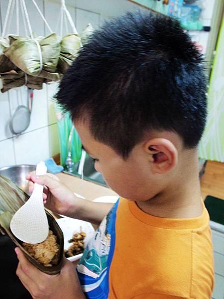 9.小四生包粽子