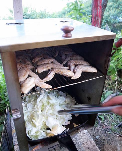 5-1烤雞兼炒青菜