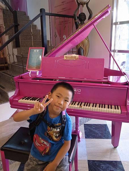 6-5桃紫鋼琴