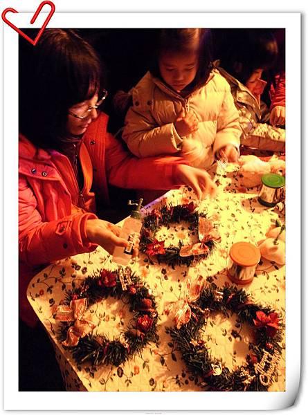 22.聖誕花圈DIY