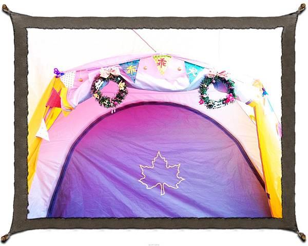 23.聖誕風帳篷