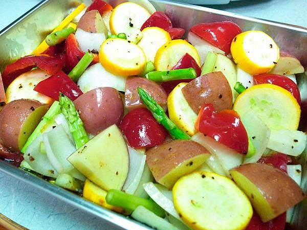 8.好氣色的蔬菜們