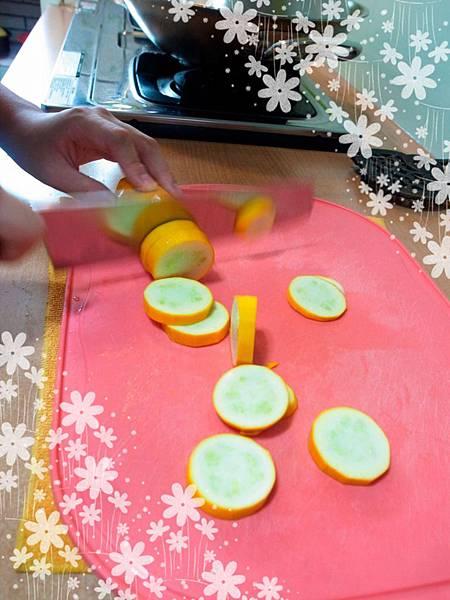 6.隨意切櫛瓜