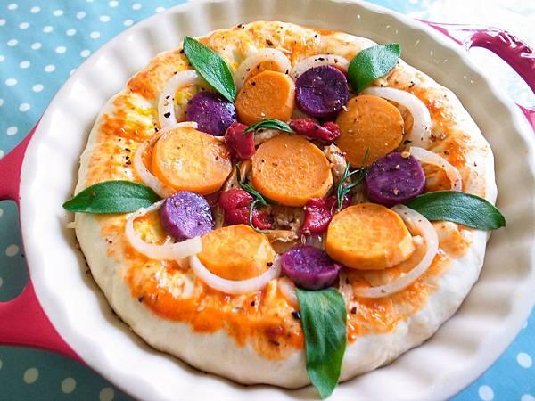 2-4雙色地瓜Pizza