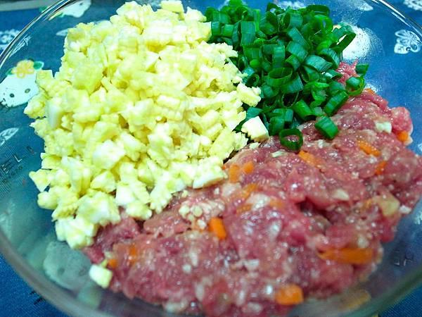 6.玉米筍肉餡