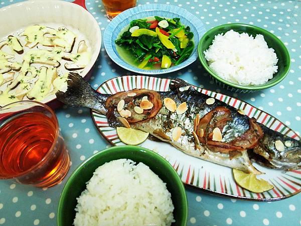 16.簡單的鱒魚餐
