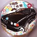 R0022608【主圖:品牌汽車-BMW】浮凸式/單層蛋糕舞台