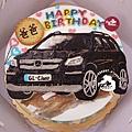 R0022608【主圖:品牌汽車-賓士】浮凸式/單層蛋糕舞台