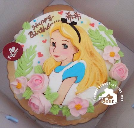 R0025611【主圖:愛麗絲/愛麗絲夢遊仙境】浮凸式/此款可6吋