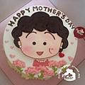 R0026606【主圖:小丸子媽】浮凸式/單層蛋糕舞台