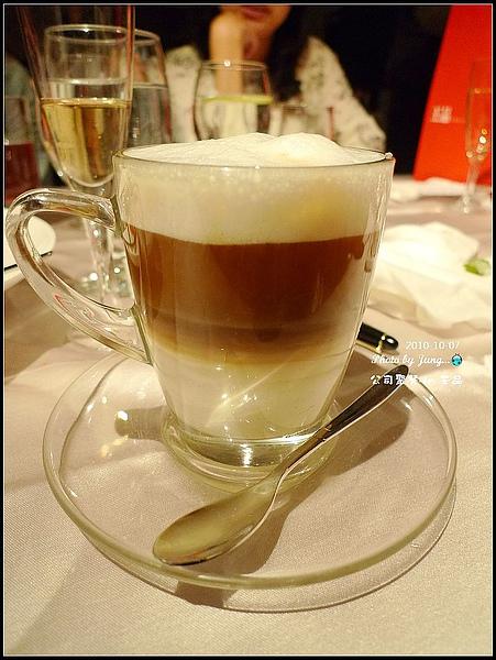 26.熱拿鐵咖啡-今天我的唯一一道不錯的@@.jpg