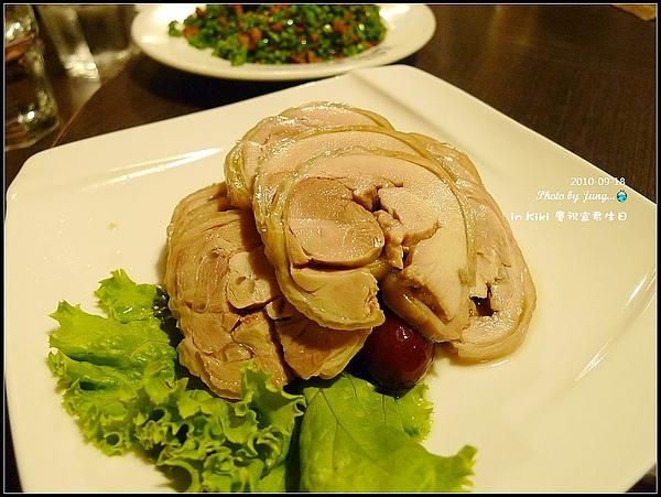 1.合菜6~8-花雕醉雞腿(冷盤)
