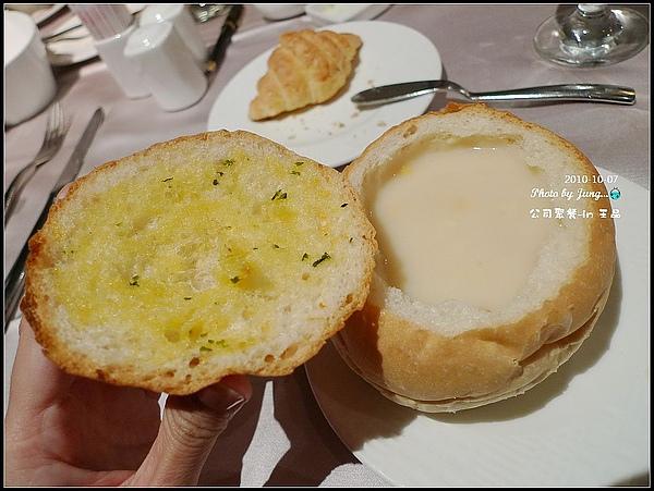 14.蓋子是香蒜麵包-可是也沒有熱熱滴soso.jpg