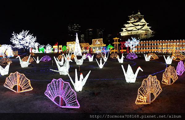 再見冬天-京都版合掌村與明治維新燈光展17.jpg