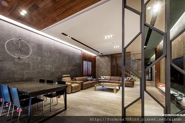 石木鐵幾何圖形-打造時尚科技住宅1.jpg