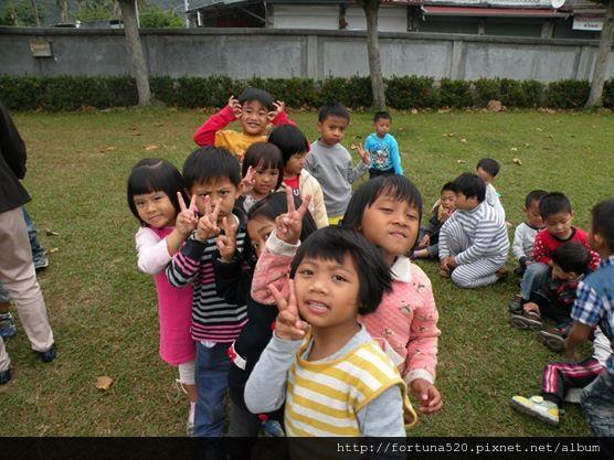 天琪幼兒園的小朋友們