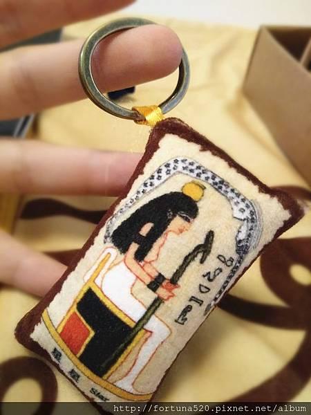 古埃及神圖塔羅精緻絲印棋盤塔羅布(盒裝)