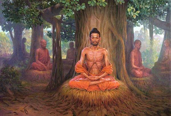 釋迦牟尼佛六年苦行