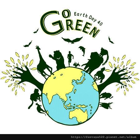 吃素救地球