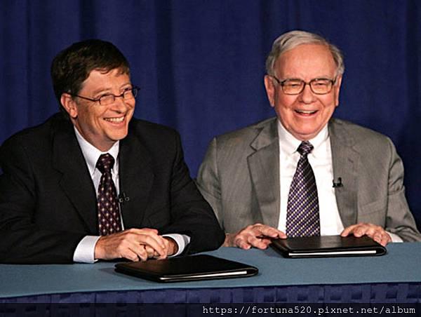 巴菲特與比爾蓋茲