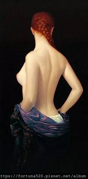裸背的女人