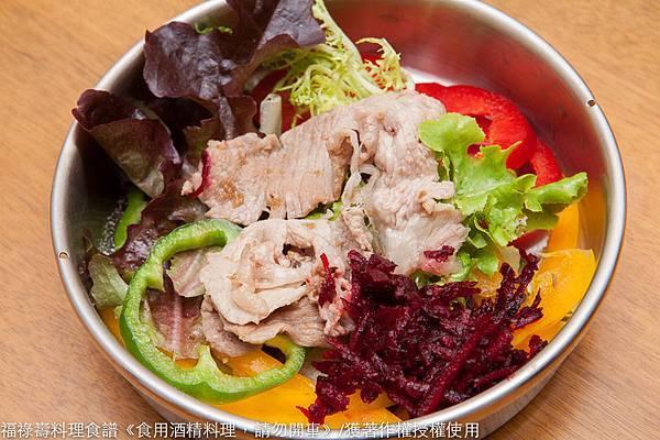 薑黃五色菜飯-縮小-9528