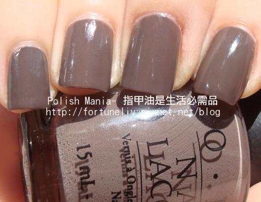 OPI #F15-You don't know jacques!