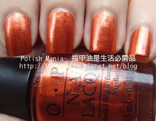 OPI #HLB10-Take the stage