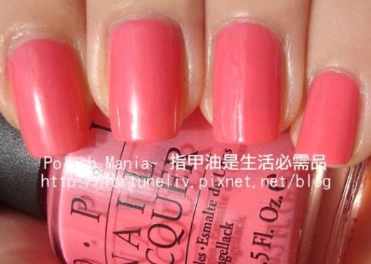 OPI #I42- Elephantastic Pink