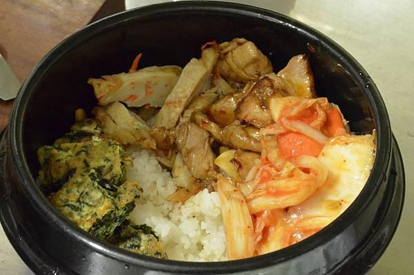 莊爸泡菜拌飯2